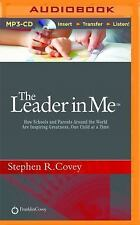 THE LEADER IN ME unabridged audio book on MP3 CD by STEPHEN COVEY (8.5 Hours)