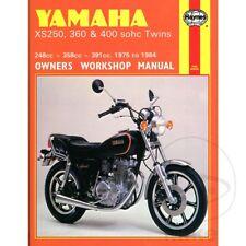 YAMAHA XS 250 1977-1980 Haynes Manual De Reparación y mantenimiento 0378