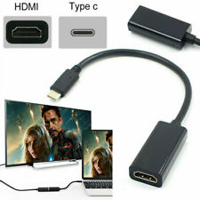 USB Type C to Female HDMI HDTV Adapter Cable For Samsung S9 S8 Note 9 Macbook