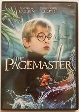 THE PAGEMASTER (DVD, 2013, Fantasy) *Macaulay Culkin* SHIPS FAST Mon-Sat!
