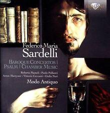 Federico Maria Sardelli Concertos baroques - Psaume - Musique de chambre, New Mu