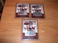 (7) 2010 Football Contenders John Skelton Rookie Auto Patch Cards Lot /299