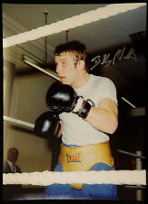 More details for  new billy walker boxing signed 12x16 photograph : a