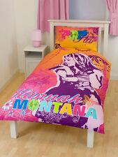 ORIGINAL DISNEY HANNAH MONTANA MILEY CYRUS ropa de cama 135x200 Decoración NUEVO