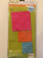 AccuQuilt GO! 4 Shape Fabric Cutting Dies; Small Value Die #55018 NEW