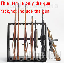 Dragon Model Toys 1/6 Weapon Wood Storage Rack Stand Rifle Rack F 10-Gun Figure