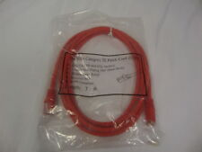 LOT OF 68 New  7FT RJ45 CAT5 CAT5E Ethernet LAN Network Cable Red Free Shipping