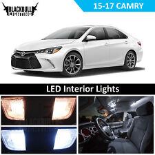 White LED Interior + Reverse Light Package Kit for 2015-2017 Toyota Camry 12 PCS