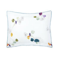 YVES DELORME | PAVOT PILLOWCASE PRINTED 100% COTTON PERCALE 40% OFF RRP