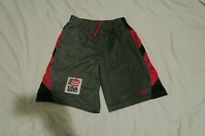 Everlast Usa Boxing Patch Gym Training Shorts Mens Size Large Gray Red 30x11