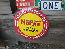 NEW MOPAR CHRYSLER  METAL DISPLAY Parts Accessories 70 71 69 69 HEMI CUDA CHALL