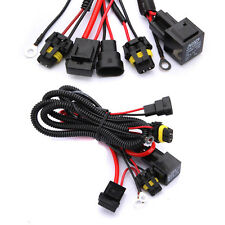 9005 9006 HB3 HB4 H1 H3 H7 H8/H11 Car HID Xenon Fuse Relay Wiring Harness 40A