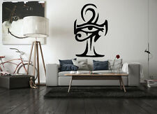Wall Vinyl Sticker Room Decal Mural Design Egypt Eye Of Ra Horus Ankh bo2192