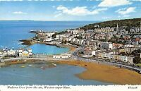 POSTCARD   SOMERSET   WESTON  SUPER  MARE  Madeira  Cove  from  the  Air