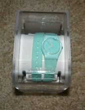 Swatch Watch Arctic Sea LL114C Wrap Around Silicone Strap - Brand New!