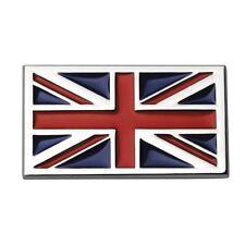 Sumex Log1643 Union Flag Emblem - Car Jack Chrome Self Adhesive Badge