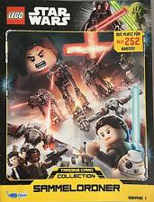 Lego Star Wars Trading Card Cards Serie 1 Sammelordner Sammelmappe Mappe NEU