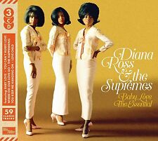 DIANA ROSS & THE SUPREMES BABY LOVE THE ESSENTIAL 3CD SET (Greatest Hits)