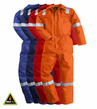 PIONER FLAME RETARDANT OVERALLS, BOILERSUIT, FIREMASTER PLUS, HEAVYDUTY 350GSM