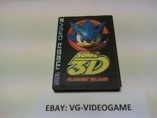 SONIC 3D FLICKIES' ISLAND megadrive PAL NUOVO
