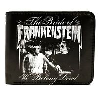 Universal Monsters We Belong Dead Men's Bifold Wallet Frankenstein Bride Horror