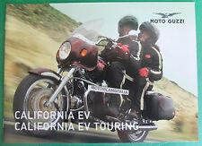 MOTO GUZZI CALIFORNIA 1100  EV EV TOURING  DEPLIANT BROCHURE CATALOGO CATALOG