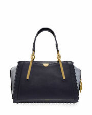 Coach 1941 Dreamer Whipstitched Colorblock Leather & Suede Satchel Bag