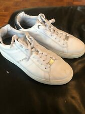 G by GUESS Rigster 5 Platform Sneakers, White Leather 7UK