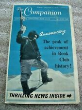 Everest 1953: The Companion. News of the Companion Book Club (pamphlets)