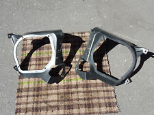88-91 Honda CRX Rear Speaker Mounting Brackets OEM pair left right cargo panels