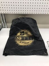 New Era 59fifty Fitted Gold Logo Cinch Gym Bag Nyc Flagship