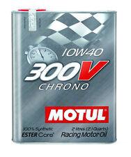 MOTUL Huile de lubrification élevée 300V CHRONO 10W40 2L