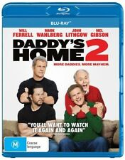 Daddy's Home 2 (Blu-ray, 2018) Brand New & Sealed