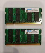 EDGE 4GB (2GB X 2) DDR2 SDRAM SODIMM Memory