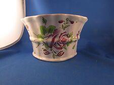 ancienne bouquetiere faience de l est decor fleurs pique fleurs  XIXe luneville