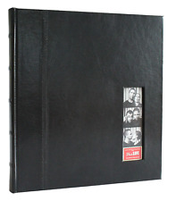 Photo Booth Album Glorious Leather 50 page Drymount with Photostrip Insert