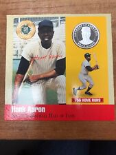 1990 Legends Of Baseball Hank Aaron Atlanta Braves Pure Silver Coin