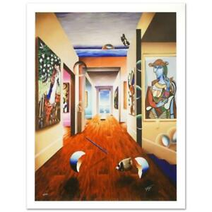 """Ferjo """"Theresa and 3 Candles"""" Signed Limited Edition Giclee on Canvas"""