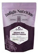 Organic Rice Protein Powder - 1kg - Indigo Herbs