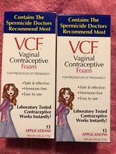 VCF VAGINAL CONTRACEPTIVE FOAM 26 APPLI ATIONS EXP:10/20 NEW & SEALED