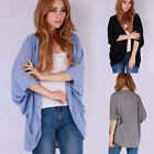Women's Long Sleeve Knitted Cardigan Loose Sweater Jacket Coat Outwear Coat Top