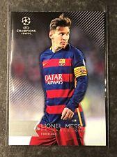 2015-16 Topps UEFA Champions League Showcase - Lionel Messi / Barcelona - Base