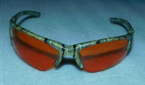 Lift Safety Glasses Orange Lenses Camo Ansi Z87+ Polarized Sunglasses One Size