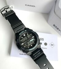 Casio Baby-G * BAX100-1A G-Lide Anadigi Black Resin Watch for Women COD PayPal