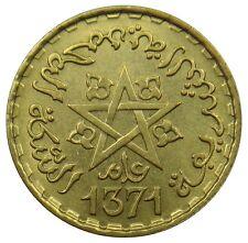 (c19) - marruecos Morocco - 10 francos 1952-Mohamed V pentagrama-UNC-y # 49