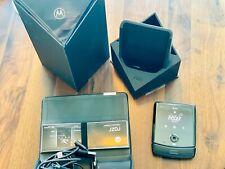 Motorola Razr (2019) - 128GB - Noir Black (Unlocked) (eSIM) Great Condition!
