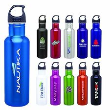 Personalized Stainless Steel Water Bottles With or Wthout Custom Logo