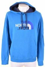 THE NORTH FACE Mens Hoodie Jumper XL Blue Cotton  MD10