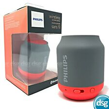 Philips Portable Wireless Speaker Bluetooth USB Rechargeable - BT50G - Orange