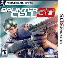 Tom Clancy's Splinter Cell 3D - Nintendo 3DS Brand New